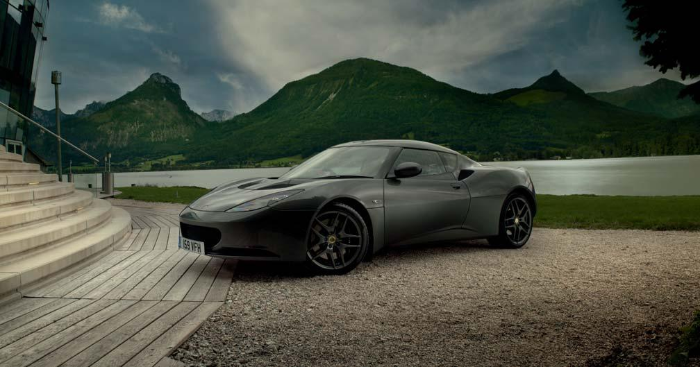 INTRODUCTION This document characterises the introduction of the MY12 updates for the Evora range.