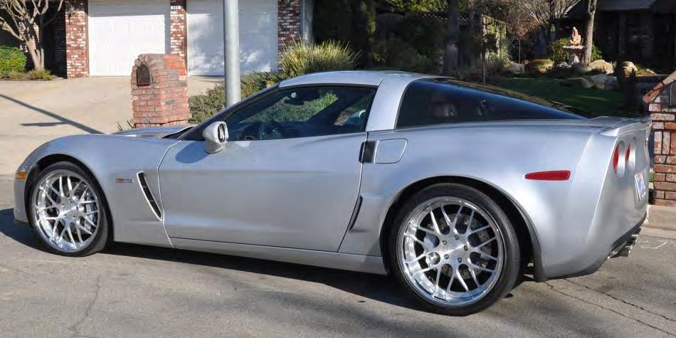 FOR SALE 2013 CORVETTE Z06 BLADE SILVER 3LT