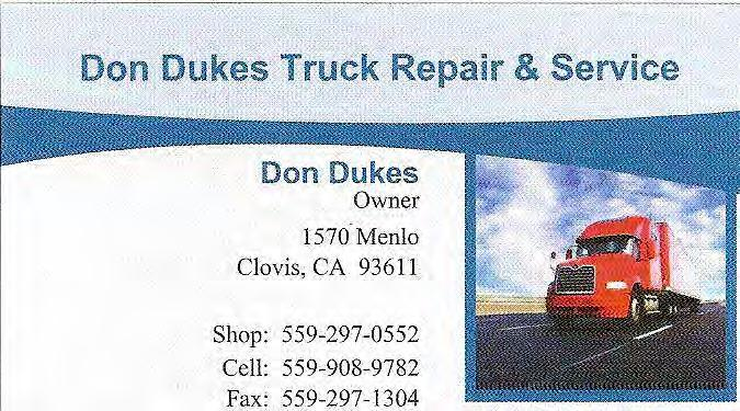 Don Dukes: Owner 1570 Menlo