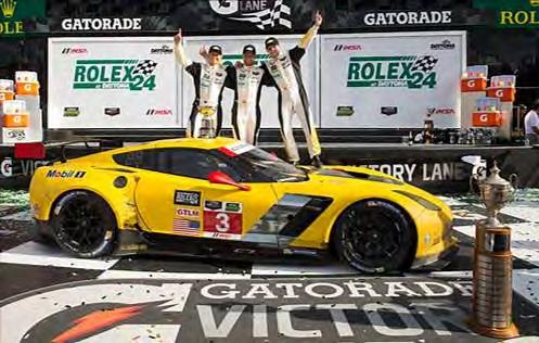 Corvette Racing at Daytona: Rolex 24 GTLM Win for Corvette C7.