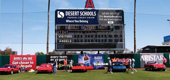 On April 14, 2007, two car shows united at Tempe Diablo Stadium (home of spring training for the Los Angeles Angels baseball team).