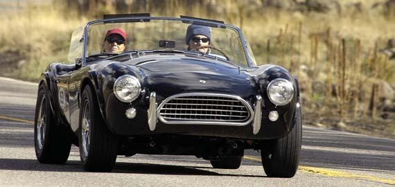 The ultimate thrill for any car enthusiast is to sit behind the wheel of a perfectly restored vintage automobile while cruising and challenging the winding roads, hairpin switchbacks, long