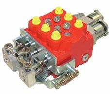 Further information: HDM19 200-P-991226 Wheel Loaders HDM19WL Wheel Loaders Directional Control Valve Monobloc construction (three-spool) Up to seven stackable sections Parallel/tandem circuits Wide