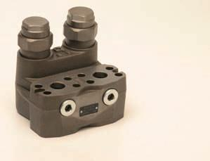 Further information: Data sheet on request Always the right solution Travel Brake Valve FBVGA Double Travel Brake Valves WV03 Directional Valve Valves comply with relevant safety regulations Designed