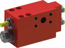 Further information: Data sheet on request Very high safety for large applications CINDY-R Load-holding Valve with Redundancy Based on the tried-and-tested CINDY technology