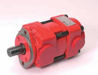 ECOdraulics Further information: QX 100-P-000021 Quiet, powerful and long-lasting QX Internal Gear Pumps Very high life expectancy Sound pressure level <57 db(a) Volumetric efficiency up to 98% Fixed