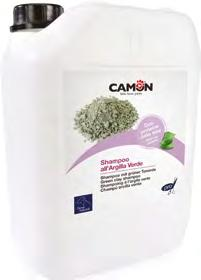 Shampoo all ARGILLA VERDE con proteine della soia Green Clay Shampoo with soy proteins Shampoo all ARGILLA VERDE e