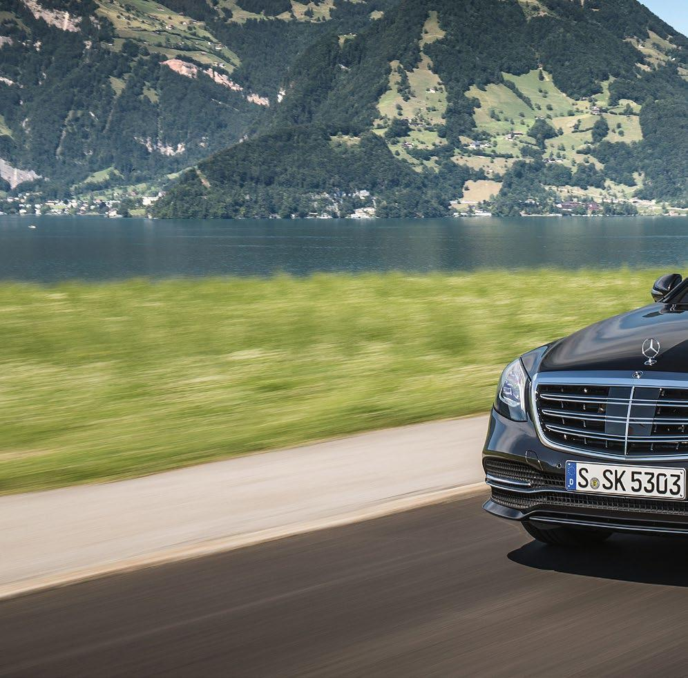 Customer project ebooster celebrates premiere in the S-Class Superior propulsion Luxurious driving pleasure has always been the domain of the Mercedes-Benz S-Class.