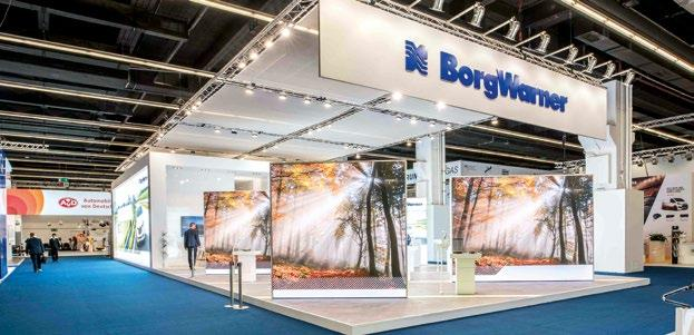 We ll be back at IAA 2019 The management of BorgWarner was very happy with the trade fair appearance.