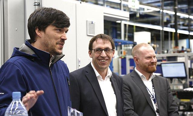 This is a real innovation for an automatic line and one which generally amazes anyone visiting our facility, comments Kreibiehl.