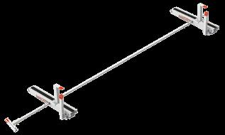 VERSATILE Up to 0' extension ladders ' - 0' stepladders Conduit carriers Mounting Channel Kits All Mounting Channel Kits attach to factory mounting points. No drilling required. All hardware included.