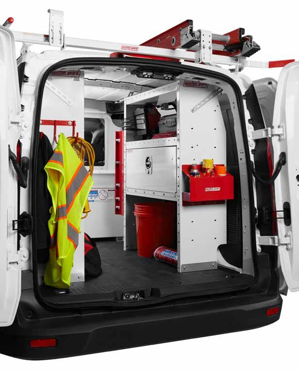 DESIGNED WITH THE PROFESSIONAL in MIND WEATHER GUARD Van Solutions deliver unmatched organization, productivity, and durability, backed by a Limited Lifetime Warranty.