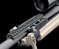 STEALTH PRECISION TRG 22/42 medium range sniper rifle with folding stock and short 20 barrel is the optimal and compact choice