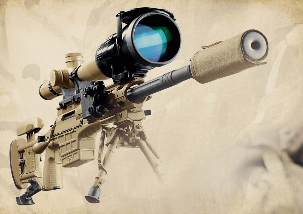 MISSION SPECIFIC vs. MULTI-ROLE SAKO TRG M10 offers mission specific configurability and true multi-role capability for Military snipers and sniper teams in a single weapon system.