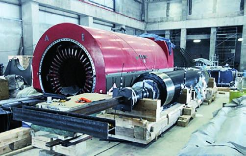 Service portfolio for long lifetime and best performance ANDRITZ has reached remarkable milestones on implementing latest developments and technologies of the turbo generator design, enabling our