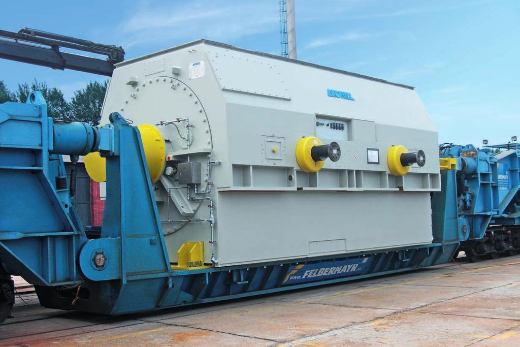 Efficient economic solution with air-cooled generators Within our turbo generator portfolio, air-cooled 2-pole generators are a highlight.