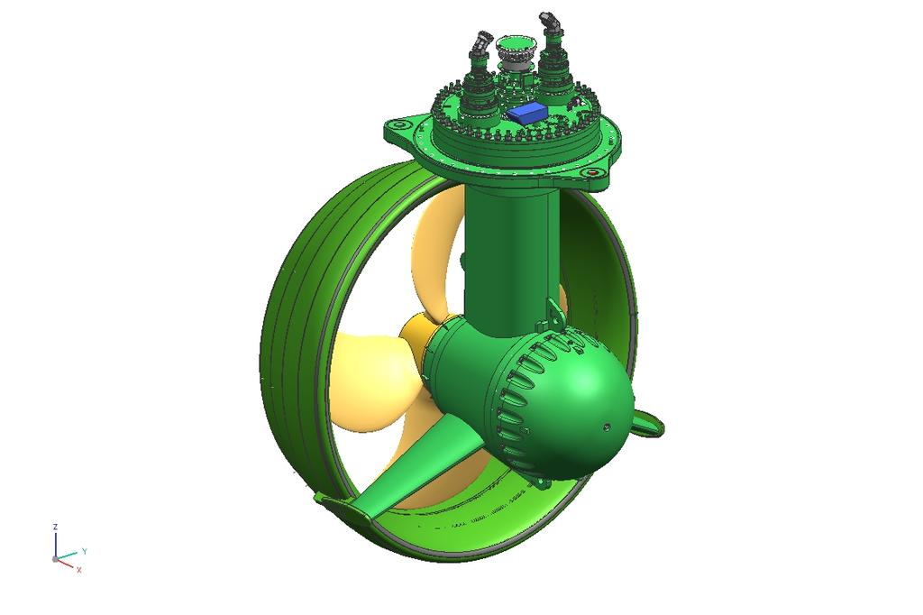 Azimuth Thruster Type: UUC Mechanical power transmission One