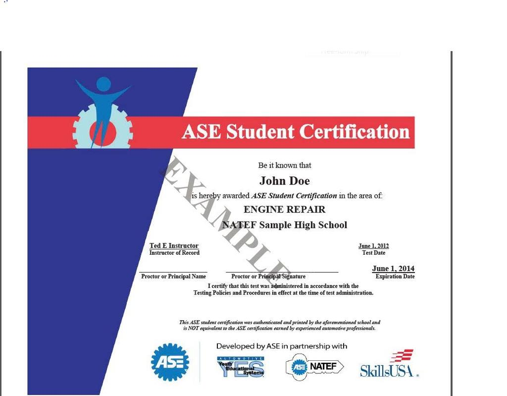 ASE Student