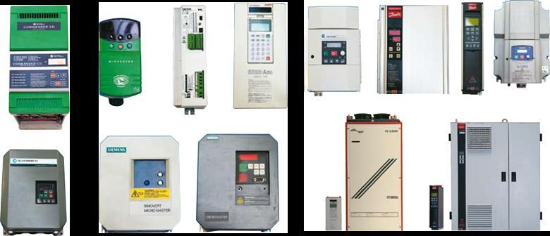REPAIR DRIVES Repair Frequency converters and soft starters UNIS Group has many