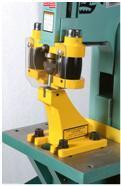 ironworker for higher precision bending. Not available on the P2 model.