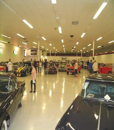 The showroom consisted of Classic, Antique,
