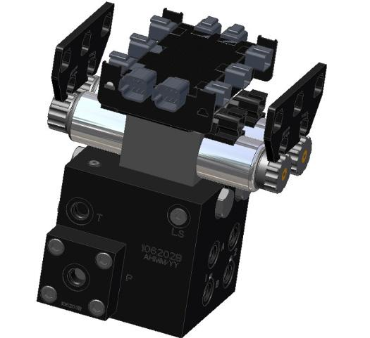 Figure 18: Valve Module Bracket Installation 5.