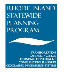 Transportation Improvement Program Application - New Projects Only State Planning Council One Capitol Hill Providence, RI 02908 www.planning.ri.