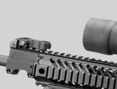 automatic rifle designed for rugged