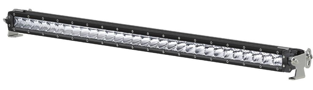 "INSTALLATION MANUAL 1501264 Parts List 1 LED light bar, 10"" 1 Mounting bracket, left 1 Mounting bracket, right 1 Wiring harness 2 Security screw, M6-1."