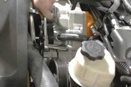 Going clockwise (toward the driver side) from the fi rst water pump