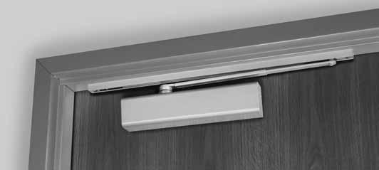 This track assembly requires that a door stop, by others, be supplied to stop the door.