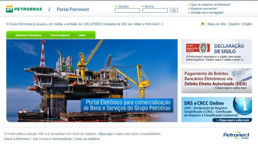 SUPPLIER QUALIFICATION AND REGISTER IN PETROBRAS