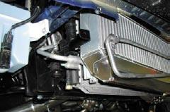 polished intercooler pipe 4 and secure with a