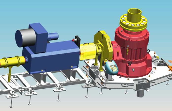 TECHNICALINFO Benefits The underground set-up of electric motor and gearbox ensures low noise emissions in the station area and maximum protection of the drive components at low temperatures.