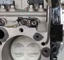Using 1/2 socket, loosely install eight (8) short head bolts to the