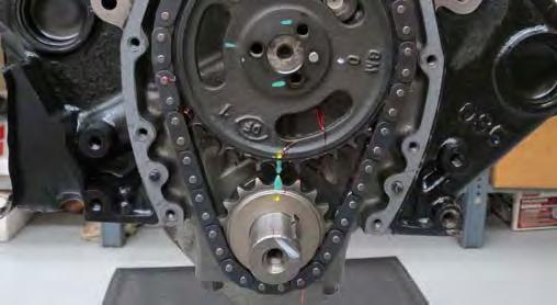 Make sure to install the sprocket so that the circle mark on the sprocket is at the 12 o clock position and the key located on the crank is at the 2 o clock position.