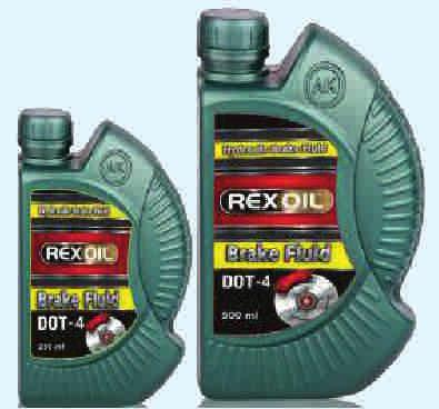 Rexoil Dot-4 Rexoil Hydro Super It reduces the steam locking risk under extreme conditions thanks to its high boiling point.
