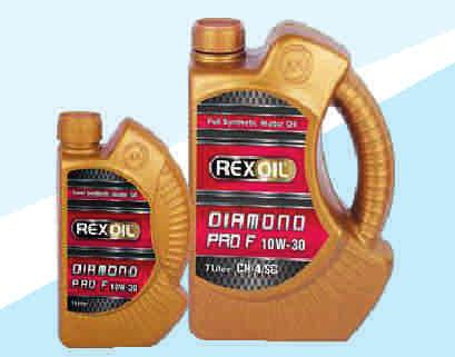 Rexoil Diamond 10W-40 Rexoil Diamond F 10W-30 Rexoil Chrome Lpg 10W-40 It reduces maintenance costs. It saves fuel and oil. It provides superior protection against friction.