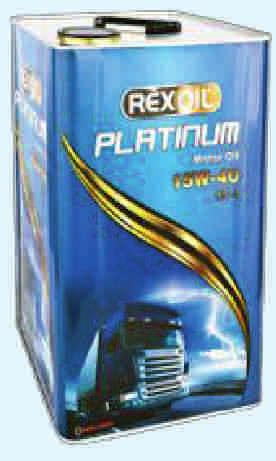 Rexoil Platinum 15W-40 It reduces maintenance costs, extends the service life of the engine.