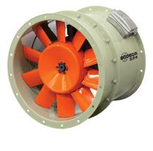 HTP HTP Cased high-pressure axial fans Robust cased high-pressure axial fans.