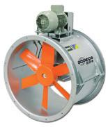 HPX/SEC HPX/SEC exempt Fans designed with the most advanced technology and experience to withstand extreme working conditions in ovens, driers and other applications with high temperature and