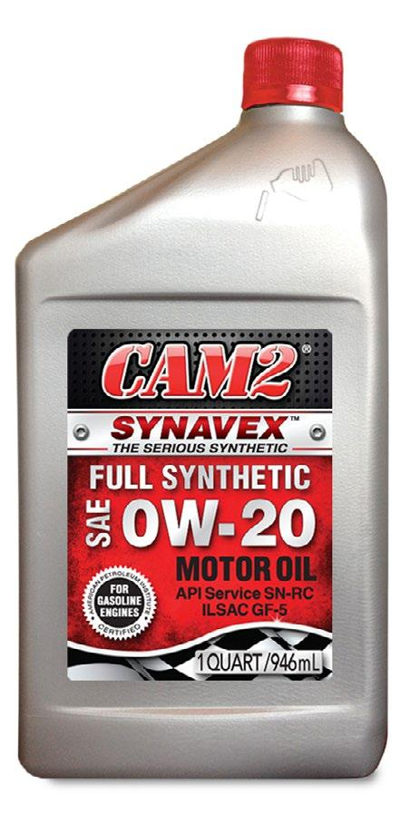 CAM2 SYNAVEX MOTOR OIL are premium quality, full synthetic engine oils formulated from selected superior base oils and advanced high performance engine oil additive technology.