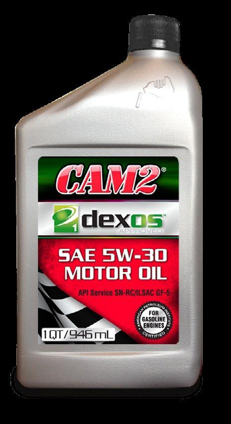 CAM2 dexos1 Motor Oil is a premium quality engine oil specially formulated for and licensed by General Motors to meet their Global Engine Oil Specification.