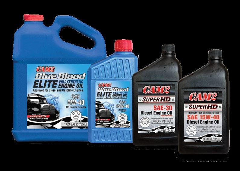 CAM2 Heavy Duty Products CAM2 Blue Blood ELITE Synthetic HD Engine Oil