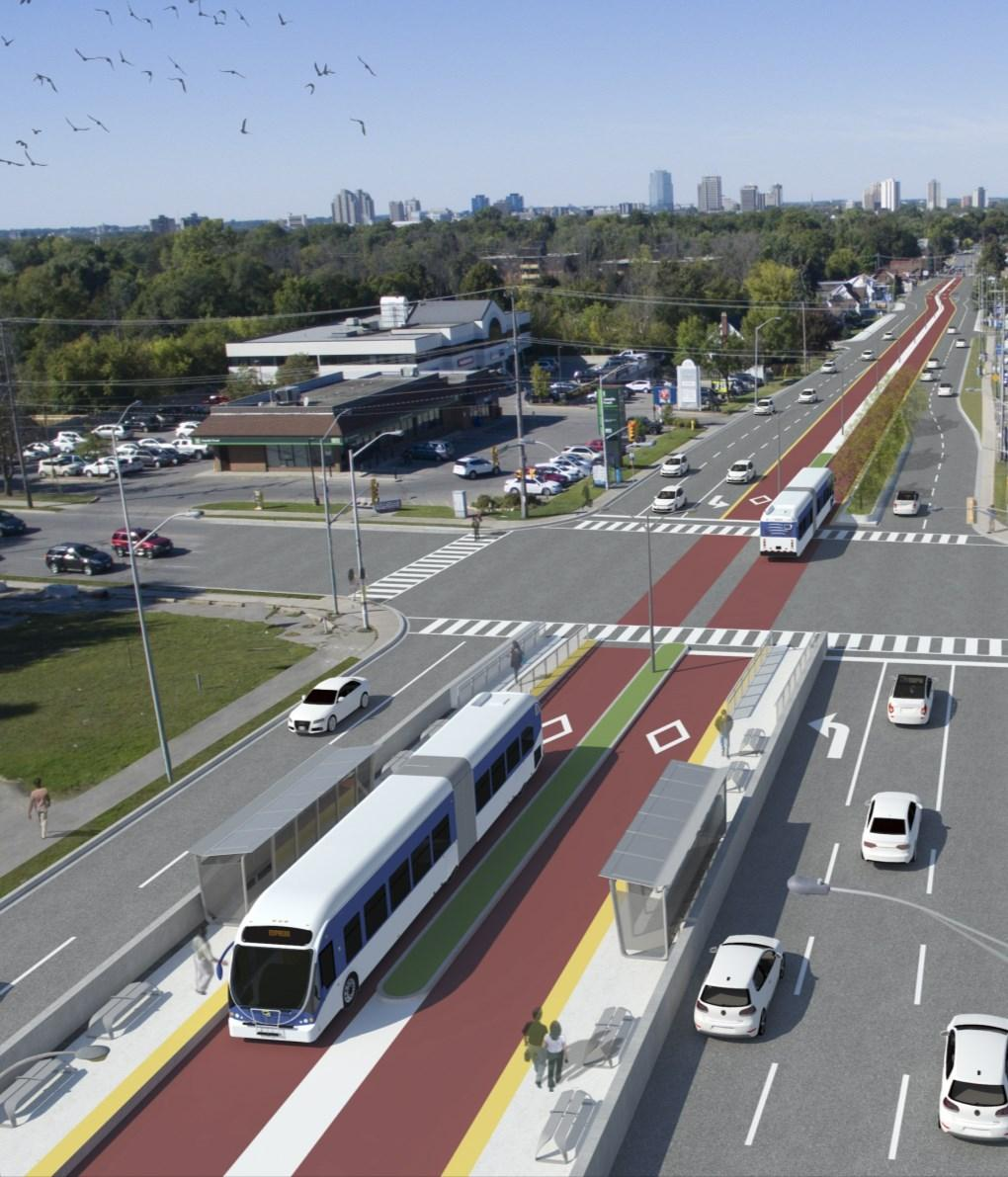 Shift Rapid Transit Initiative Largest infrastructure project in the city s history.