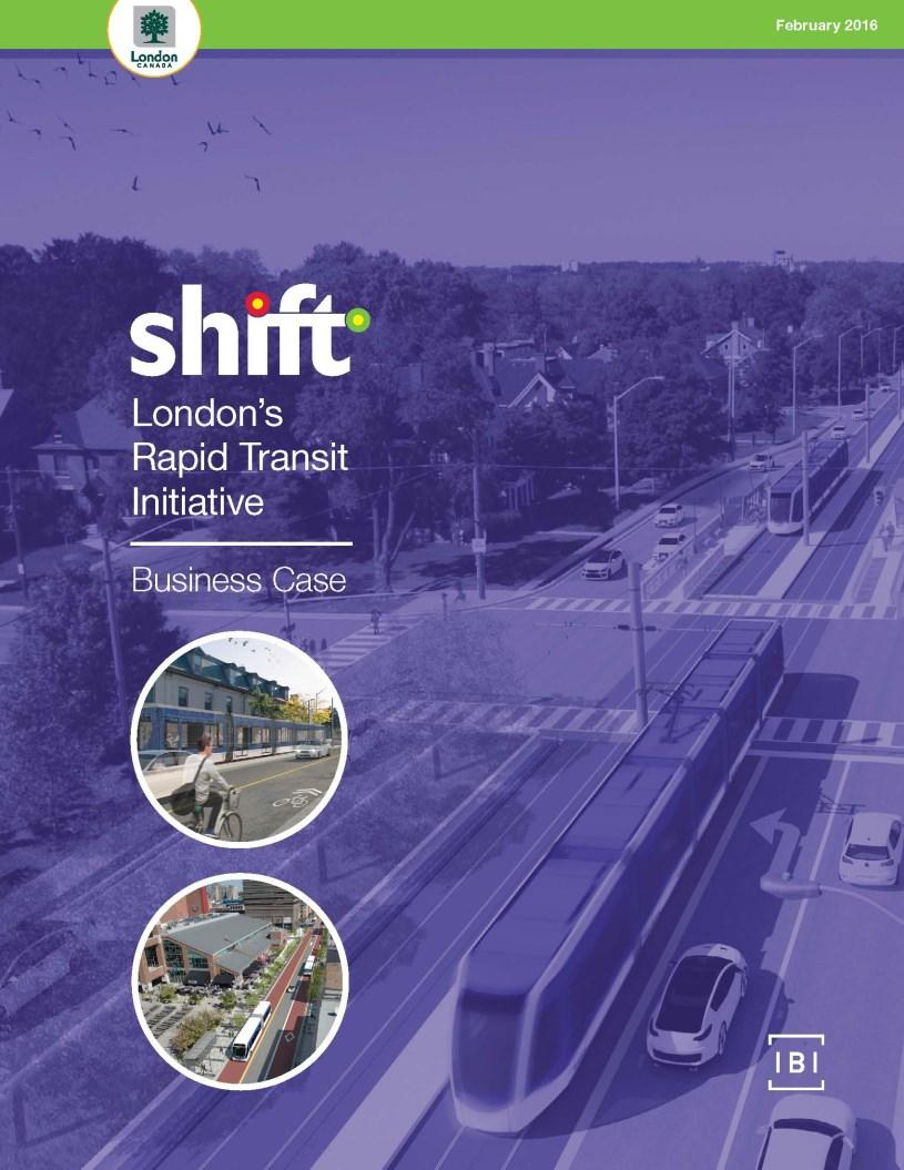 Business Case Overview Transit investments funded by Province and Federal government require a Business Case Demonstrated need for project based evidence-based decision making and objective