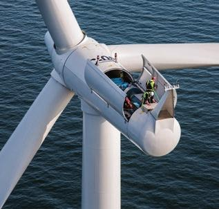 condition monitoring, maintenance, endoscopic examinations, preventive maintenance, repairs or parts replacement, the Winergy on-site portfolio includes the entire range of up-tower services.
