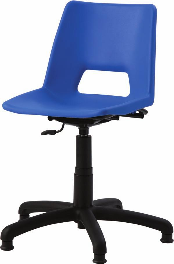 swivel chairs The TC swivel chairs are available in 4 shell colours.