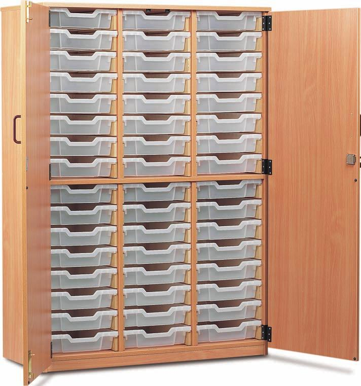 storage cupboards available from stock, choose from 48 & 60 tray.