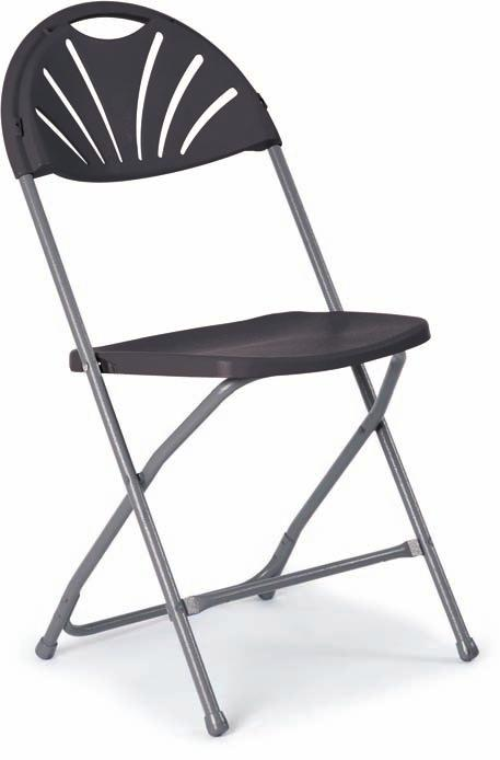 Choose from either the Flat Back Folding Chair which has been designed with a contoured seat and back, or for the